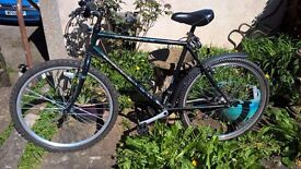 Raleigh Mens Bicycle Shimano gears. nice condition