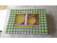 Citronella 8 Piece Garden Candle Set BNIB