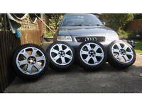 """Audi S3 8l Avus Standard Alloy Wheels 17"""" 5x100"""