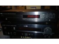 Yamaha home theater receiver / amplifier + CD player