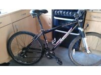 Apollo xc26 17in alloy framed bike 21 gears