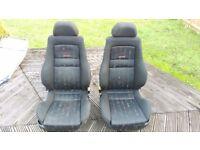 VW Golf MK3 Recaro Interior ( Seats Door Cards Volkswagon MK1 MK2 VR6 GTI 16v )
