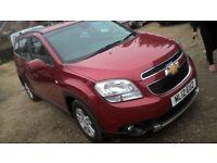 Chevrolet Orlando.1.8 petrol,7 seat,very good condition,Cat N