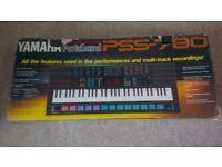 Yamaha PSS - 780 Portasound Electronic Keyboard Piano Boxed