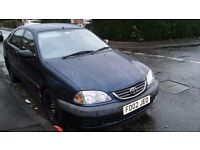 Toyota Avensis 1.8 2002 low mileage good condition !!! MOT june 2017 serviced