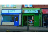 FREEHOLD SHOP & 2 BEDROOM FLAT FOR SALE/LET