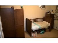 Silver Cross Richmond nursery (0 - 5 years old) bedroom suite in great condition