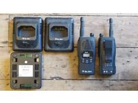 Alan HP_446 Walkie Talkie x 1 Plus 1 for Spares & 3 Charging units & 2 Power Leads