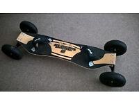 Scrub Quasar 2 All Terrain Mountain Kite Skate Board Off Light Weight Maple Deck