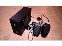 Logitech S220 2.1 PC speaker system