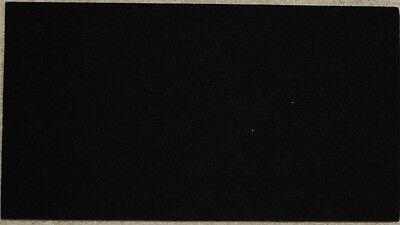 Black 72 Ring Foam Pad Holder Tray Display Liner Insert - Full Size 36-72 Rings