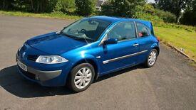 2007 Renault Megane For Sale. Good runner, reasonable bodywork.