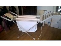 Electric Heated Clothes Airer ready please collect on sunday 26th
