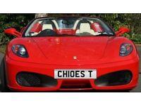 CHLOE number plate