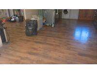 oak laminate flooring approx 24sqm