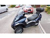 piaggio mp3 250 perfect commute scooter everything working long mot