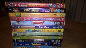++BUNDLE OF KIDS DVD'S+++