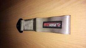 Silver/Grey 'Ryan Star' Tow Strap.