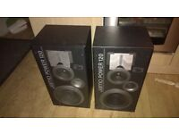 Jamo 120 watt speakers