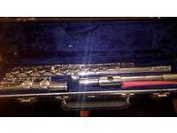 Flute musical instrument in original box complete