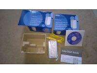 2 x Solwise 500Mbps Homeplus AV Ethernet Adapters