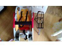 COPILOT CHILD'S BIKE SEAT WITH FRAME