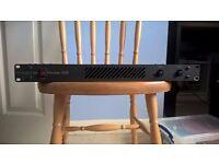 Matrix Vector 350W 1U rack power amplifier; parts / not working
