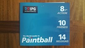 10 Paintballing Tickets IPG
