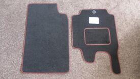 Smart car floor mats.