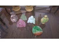 Semi precious stone buddhas