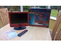 lexibook spiderman 5.4 lcd tv dvd player