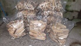 FIREWOOD LOGS AND KINDLING