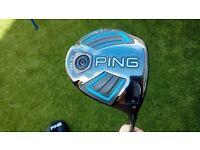 Ping G Driver LS TEC - 9 Degrees - Stiff shaft