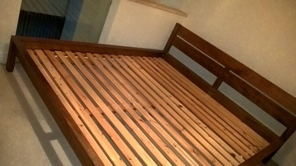 Uk Super King Size Wooden Bed Frame In Edgbaston West Midlands