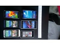 Used Dummy smartphones for shop display - look and feel like the real thing