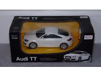 Audi TT Remote Control Car 1:24 Scale New In Box C/W New Batteries