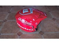 HEBO Trials Helmet in Montesa livery