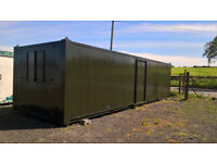 PORTABLE CABIN-32ft-OFFICE/KITCHEN/OFFICE-SHIPPING CONTAINER