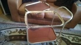 Service / Hostess Trolley And REMOVABLE Tray