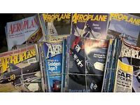 collection of Aeroplane Monthly magazines.