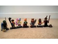 LEGO NINJAGO MOVIE minifigures BRAND NEW 7 in total