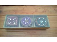 New in box sparkly jewelled trinket boxes from The Pier
