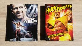 WWE Hulk Hogan and Shawn Michaels DVD box sets - New condition