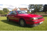 **ORIGINAL OWNER FROM NEW** 1988 TOYOTA CELICA 2.0 GT AUTOMATIC ** VERY RARE CLASSIC VEHICLE**