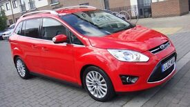 2012 Ford Grand C-Max 1.0 T EcoBoost Titanium 5dr (start/stop, 7 Seats)