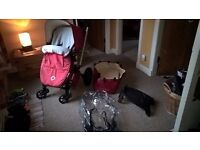 BUGABOO FROG PRAM BUGGY WITH EXTRAS