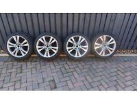 "BMW active tourer , gran tourer F45 / F46 alloy wheels with winter tyres 18"""