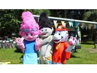 Mascots for hire, Trolls, Paw Patrol - Trafford area