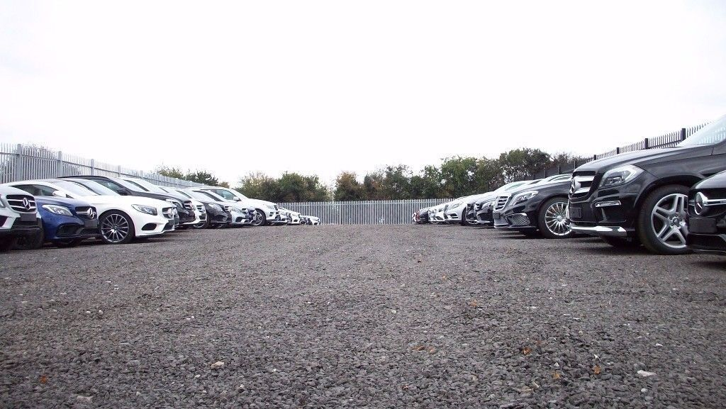 Car parking spaces to rent in car sales yard . car hire , car storage