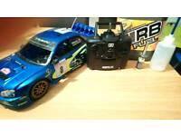 Subaru rc nitro car